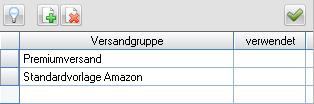 MERCATOR Amazon Verkäuferversandgruppen