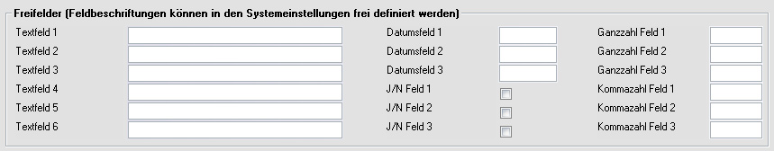 Shopware Freitextfelder mit MERCATOR ERP füllen