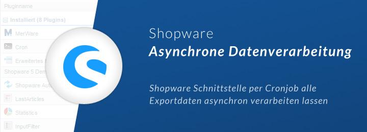 Shopware Warenwirtschaft asynchron
