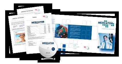 MERCATOR Demo mit Informationsmaterialien hier anfordern