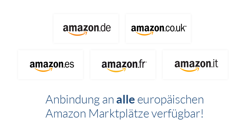 Amazon EU Marktplatz Anbindung