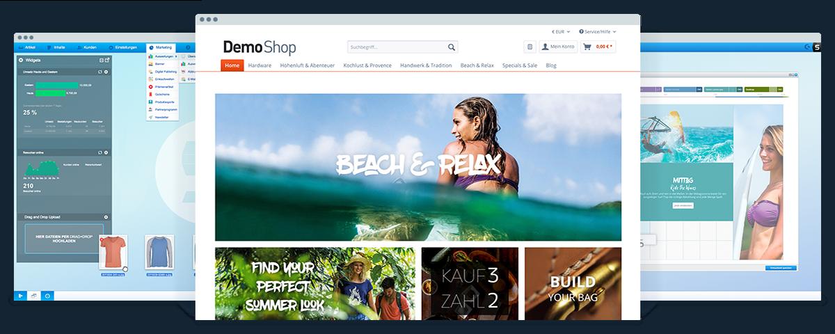 Shopware Screenshots